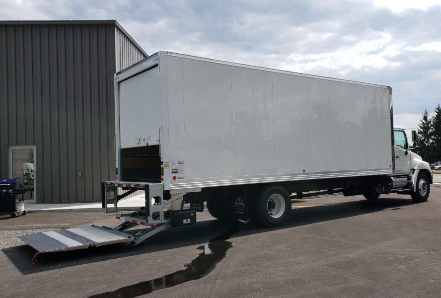 2020 Hino 268D 271 Wheelbase Featuring 26 Foot box - W14937 - 3